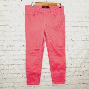 Calvin Klein Jeans pink coral skinny ankle  jeans